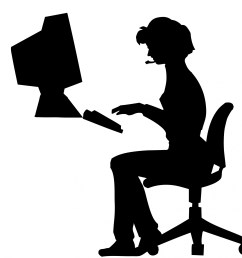 1920x1920 woman typing office computer free stock photo [ 1920 x 1920 Pixel ]
