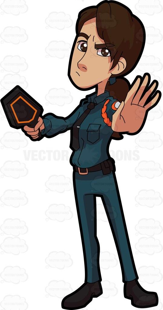 Security Guard Flashlight