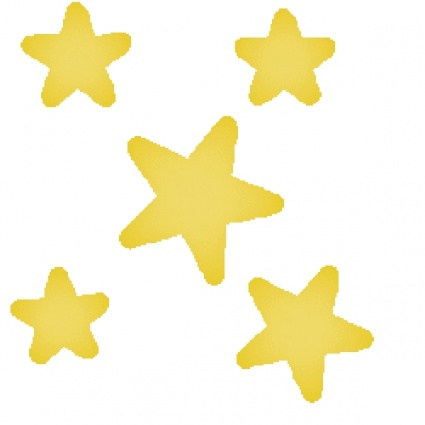 shining star cliparts free