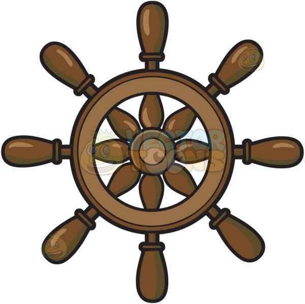 Ship Wheel Clipart Free