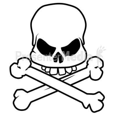 Skull And Bones Clipart Free download best Skull And