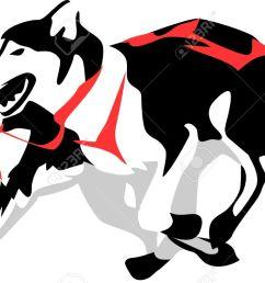 1300x817 husky clipart sled dog [ 1300 x 817 Pixel ]