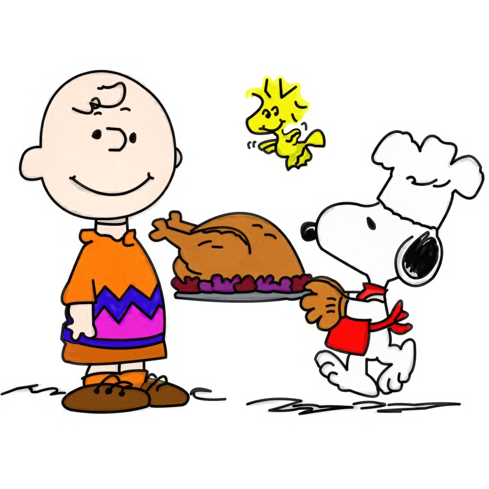 medium resolution of 3000x3000 snoopy thanksgiving free clip art