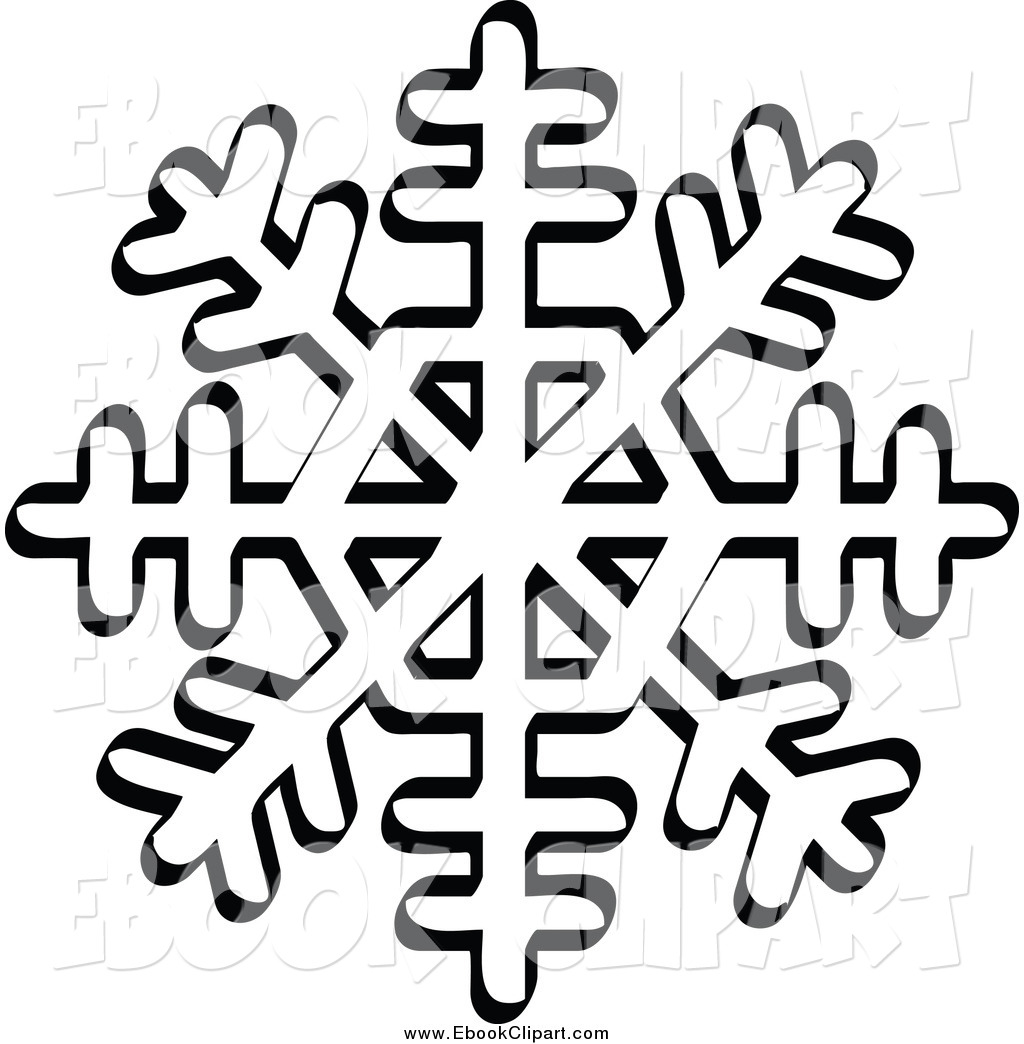 Snow Flake Clipart