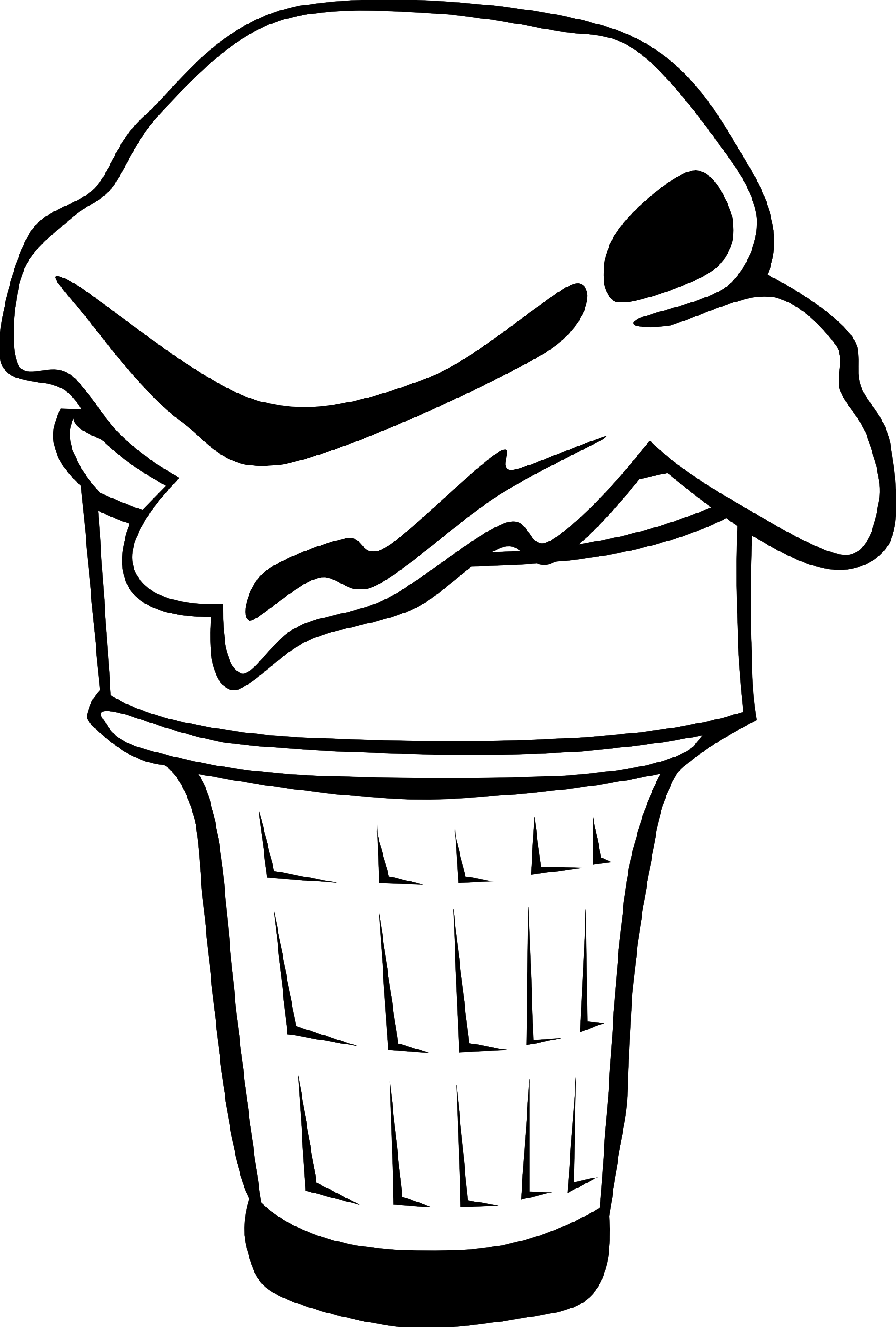 hight resolution of 1979x2931 black amp white clipart ice cream clipart black and white gallery