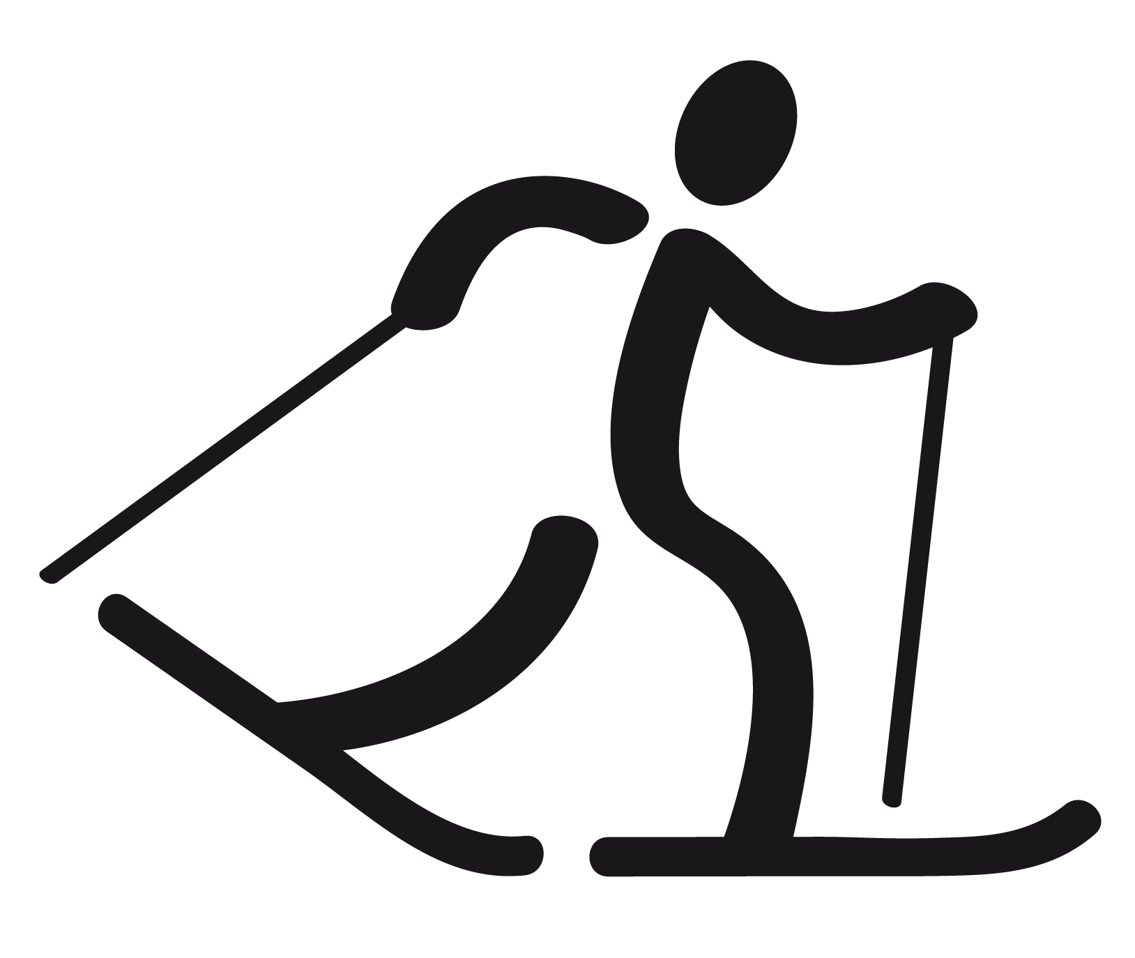 Snowshoeing Cliparts