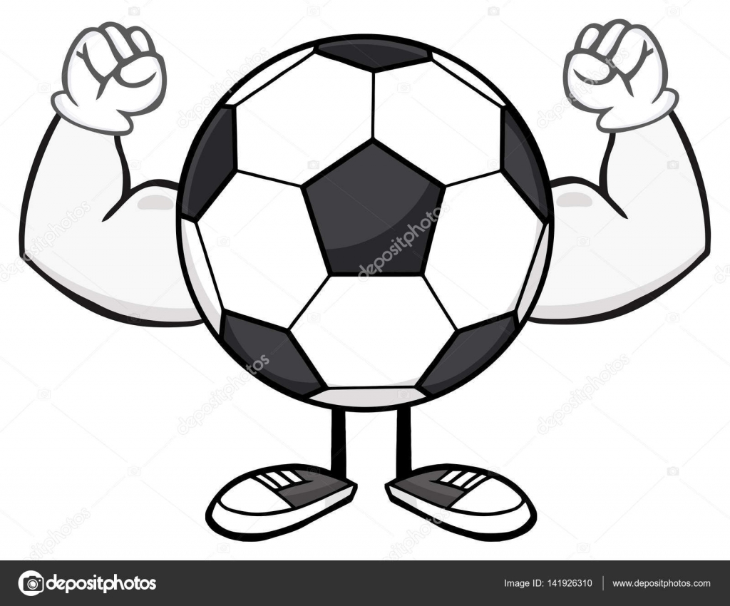 Soccer Balls Cartoon