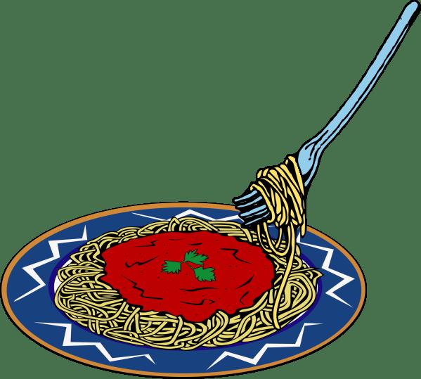 Spaghetti Dinner Flyer Clipart Free