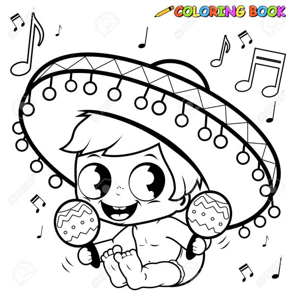 fiesta coloring pages # 16