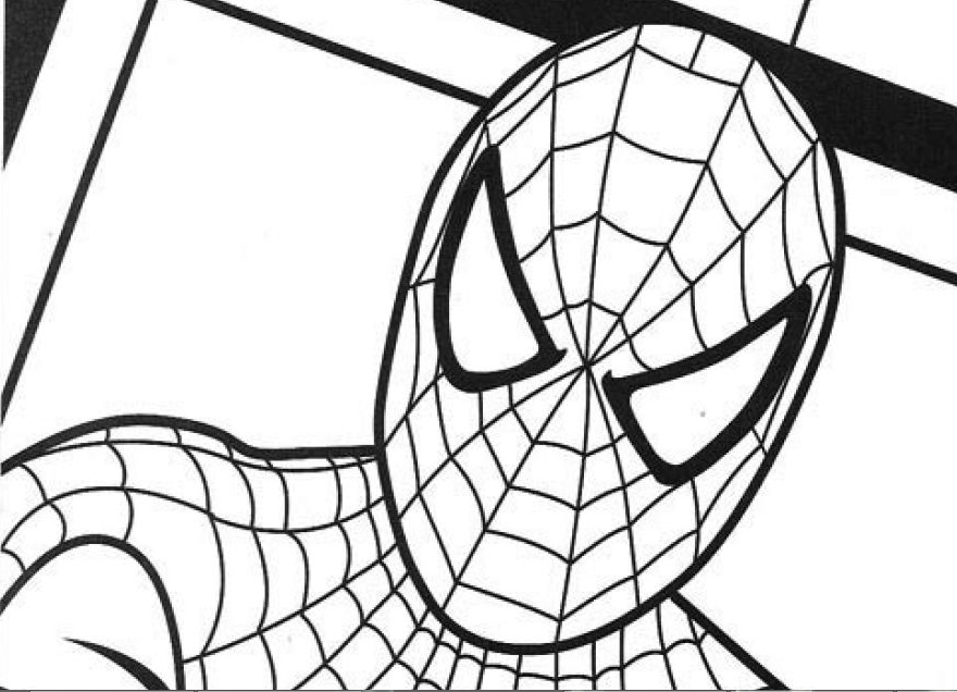carnage spider man coloring pages - photo#35