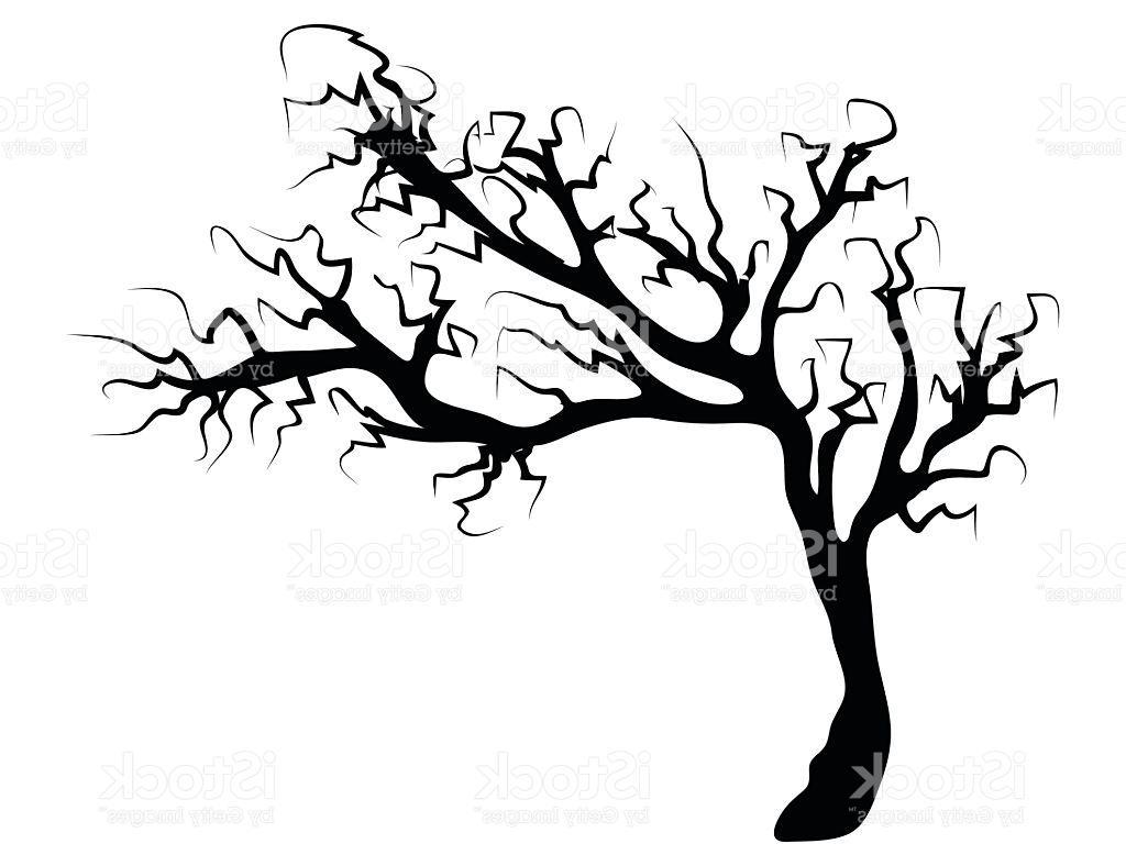 Spooky Tree Cliparts