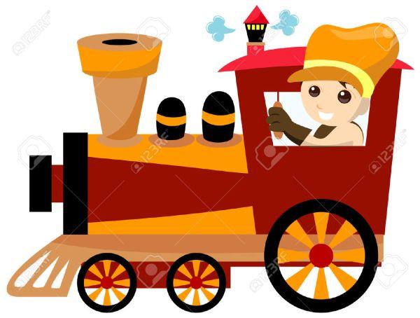 Steam Train Clipart Free