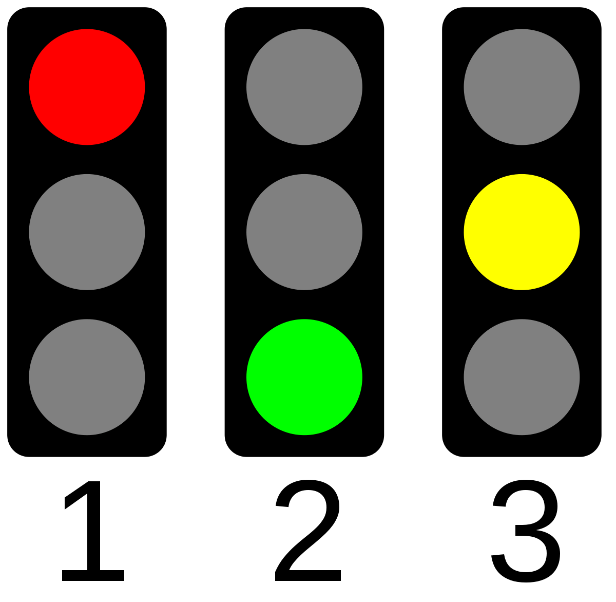 Stop Lights Clipart