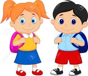 student clipart boy bag clipartmag
