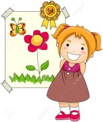 student clipart awards award clip holding artwork cliparts children drawings clipartmag preschool illustrations clipground working graphic