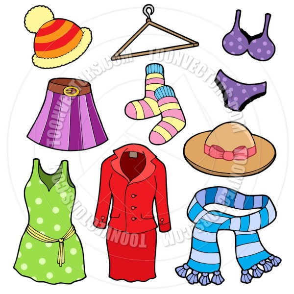 Summer Clothes Clipart Free download best Summer Clothes
