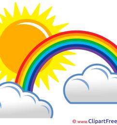 2400x1800 rainbow clipart sun [ 2400 x 1800 Pixel ]