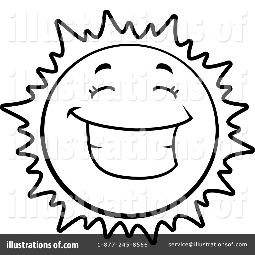 Sun Clipart Black And White Free