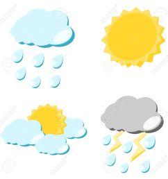 1300x1300 rain clipart sun cloud [ 1300 x 1300 Pixel ]