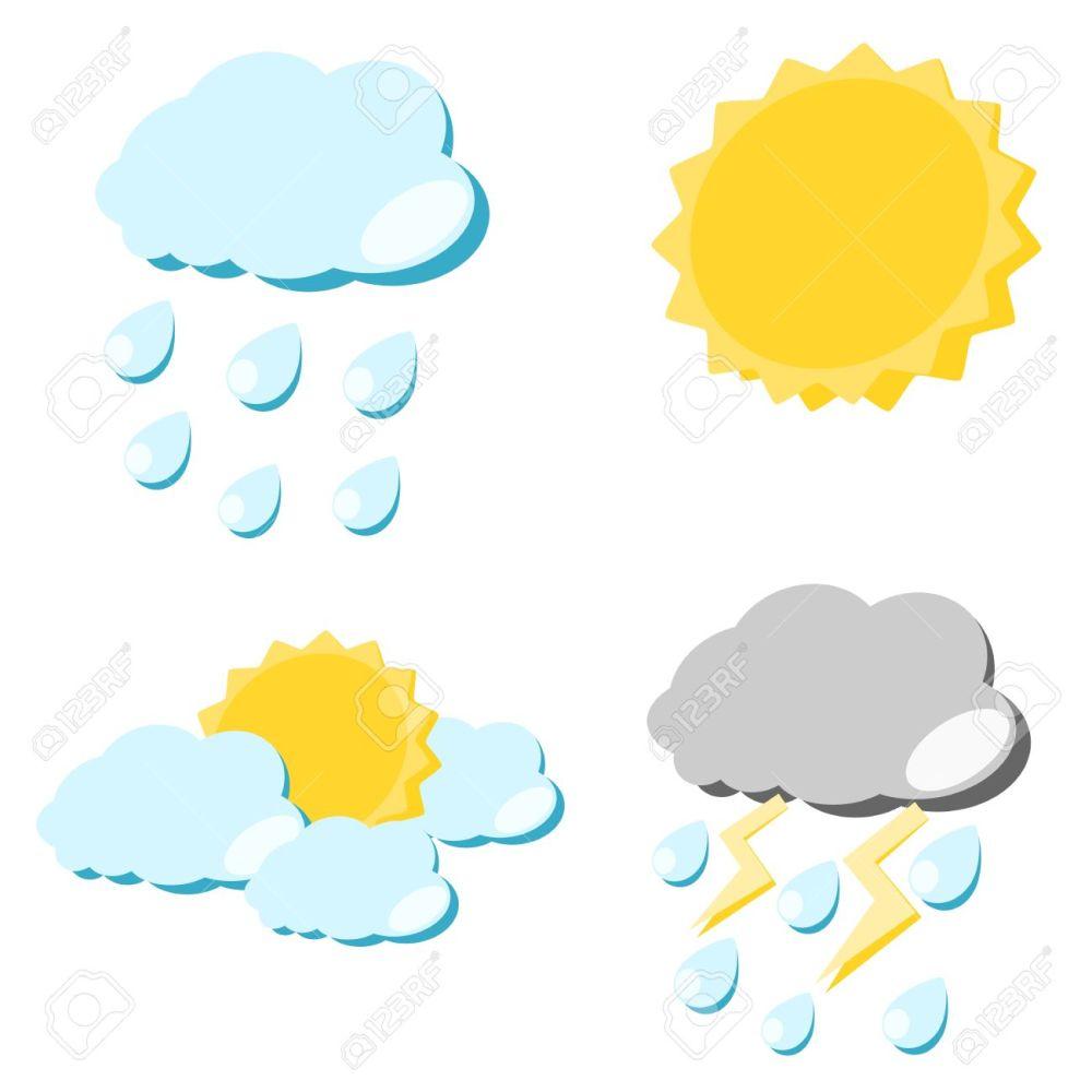 medium resolution of 1300x1300 rain clipart sun cloud