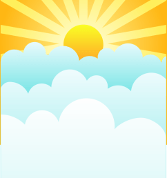 754x1056 clouds with sun clipart [ 754 x 1056 Pixel ]