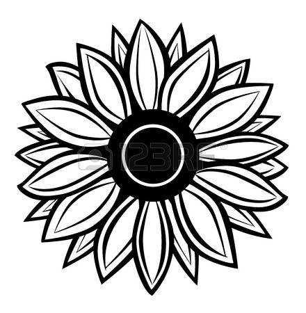 sunflower clipart free