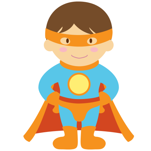 small resolution of 1500x1500 kids dressed as superheroes clipart