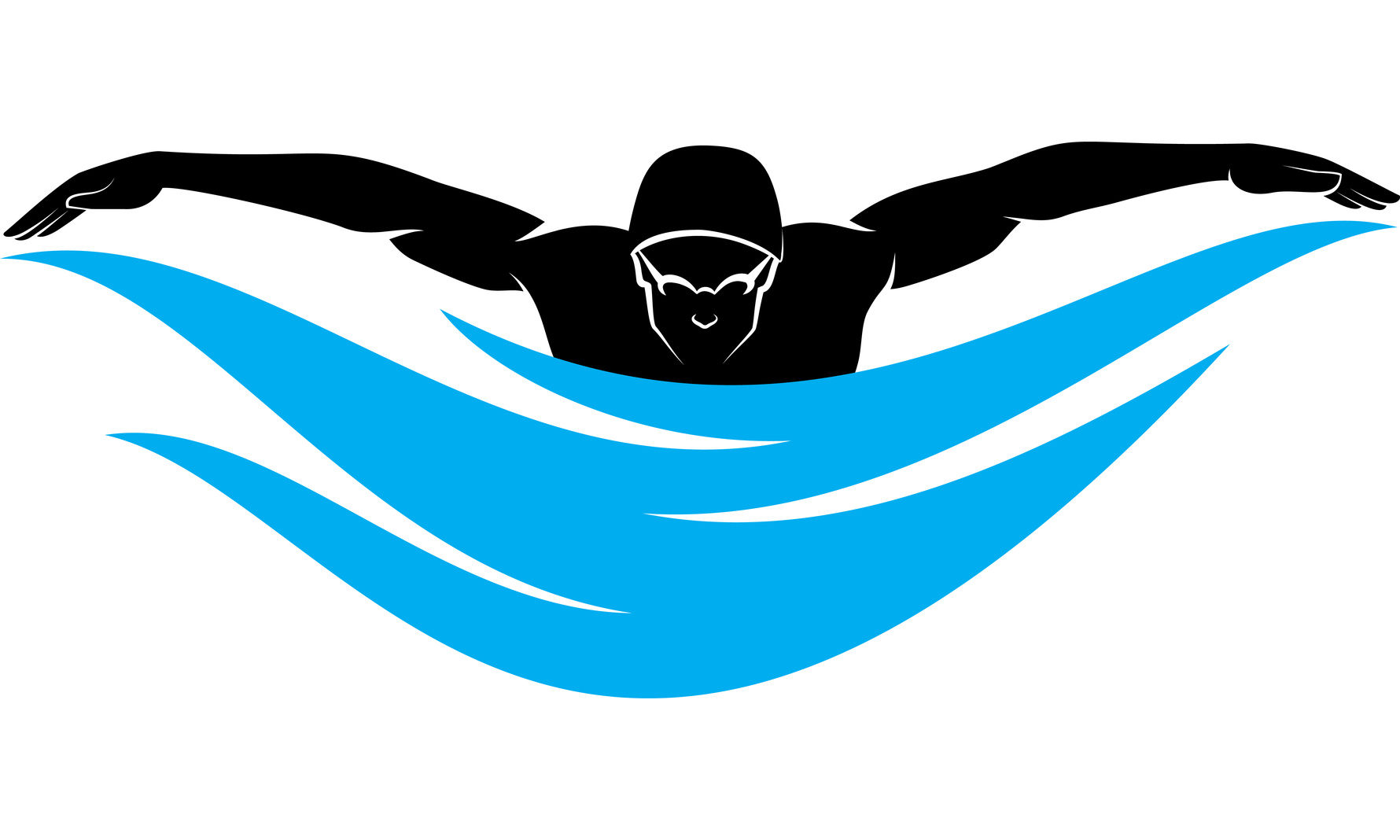 hight resolution of 1780x1068 swimming clipart fly