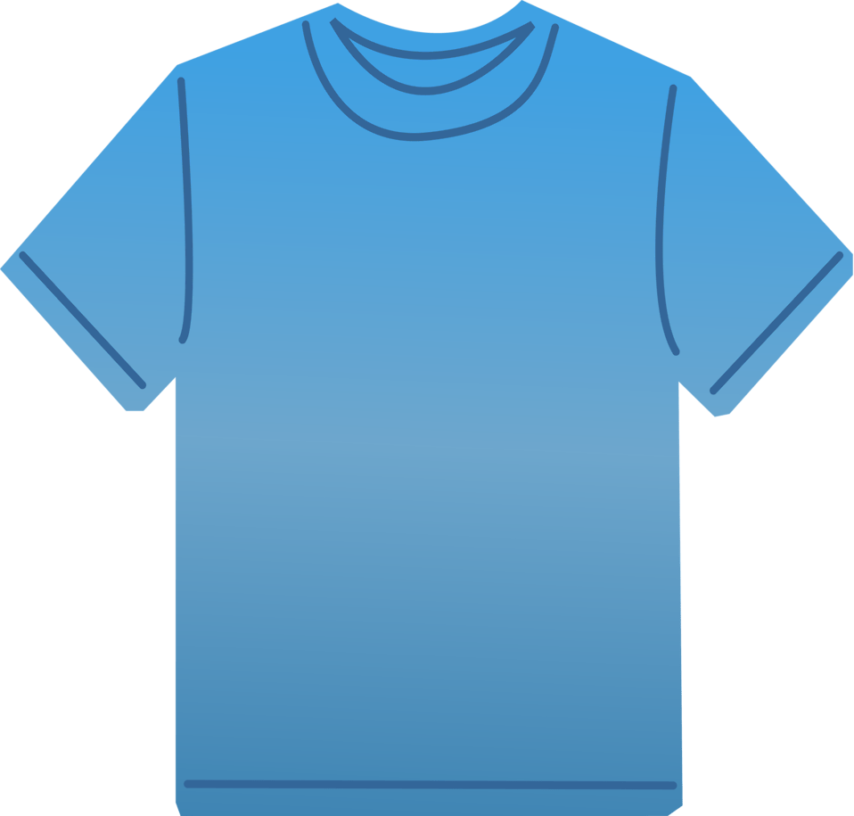 hight resolution of 958x915 t shirt free stock photo illustration of a blank blue t shirt