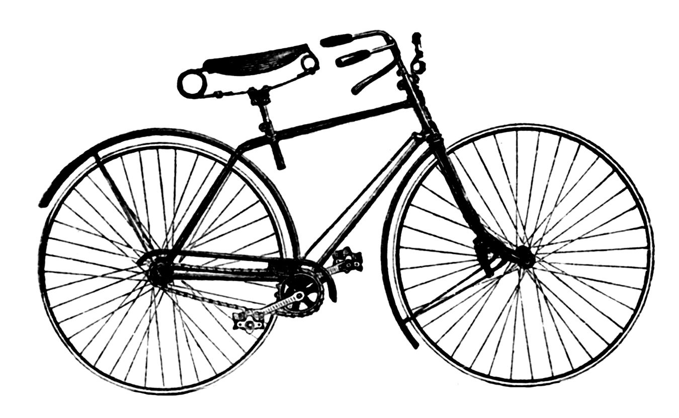 Tandem Bike Clipart
