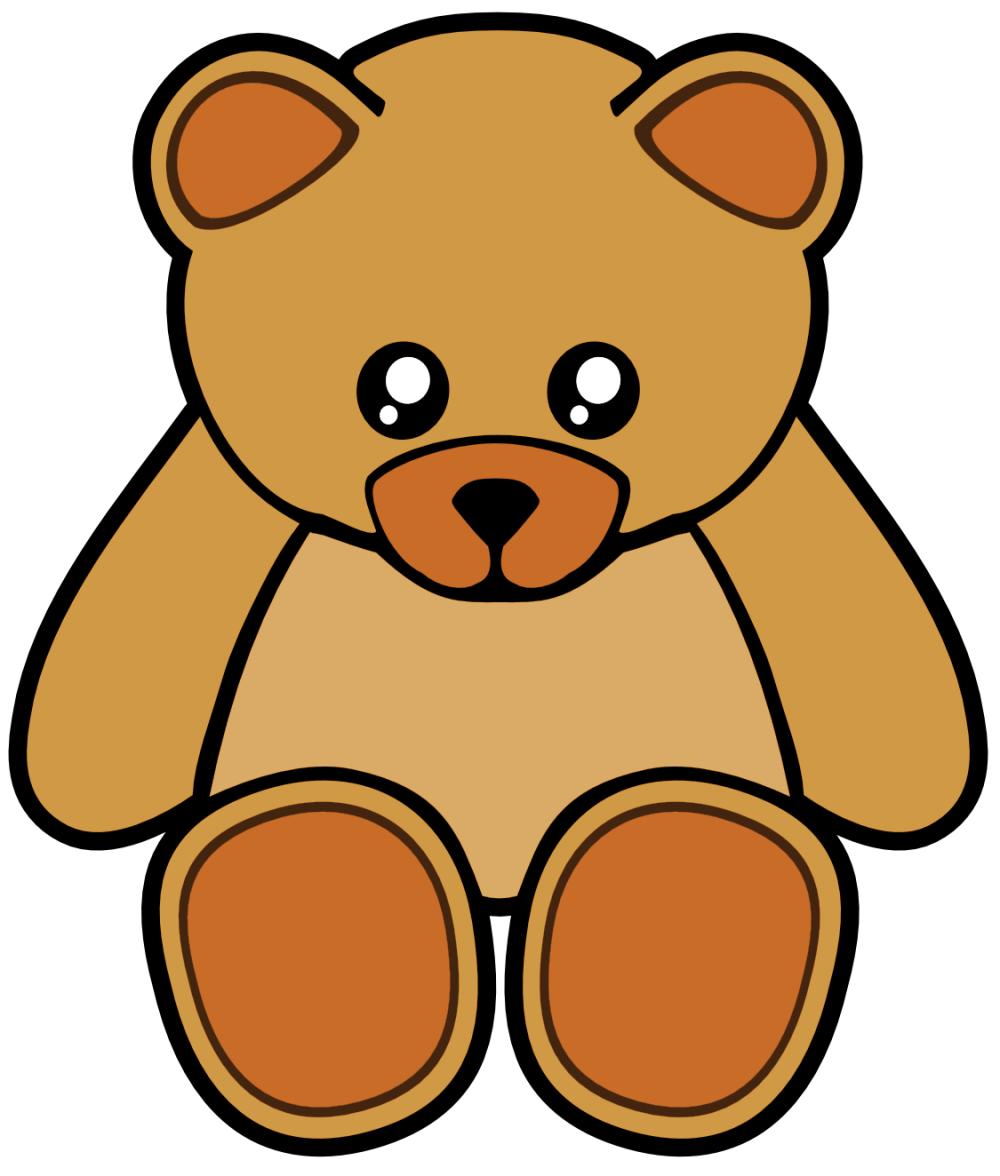 medium resolution of 1125x1324 cute pink teddy bear clipart free clip art