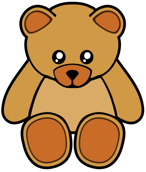 small resolution of 1125x1324 cute pink teddy bear clipart free clip art