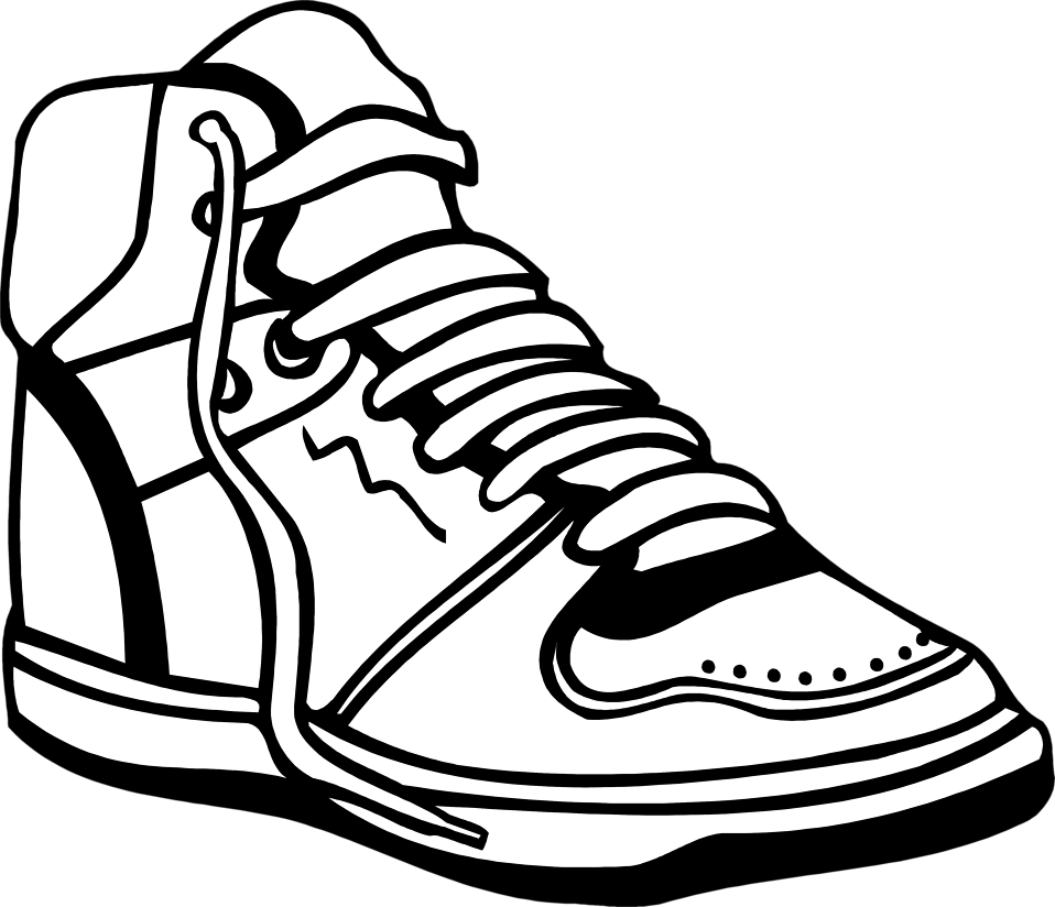 medium resolution of 958x824 clip art basketball shoes clipart
