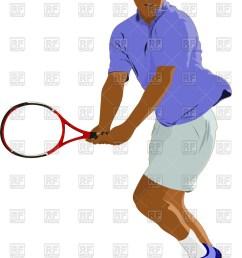 845x1200 man with racket [ 845 x 1200 Pixel ]