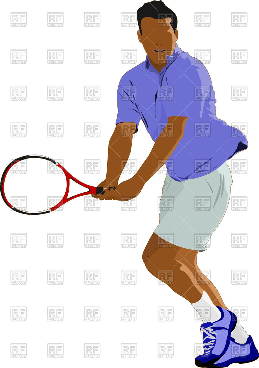 hight resolution of 845x1200 man with racket
