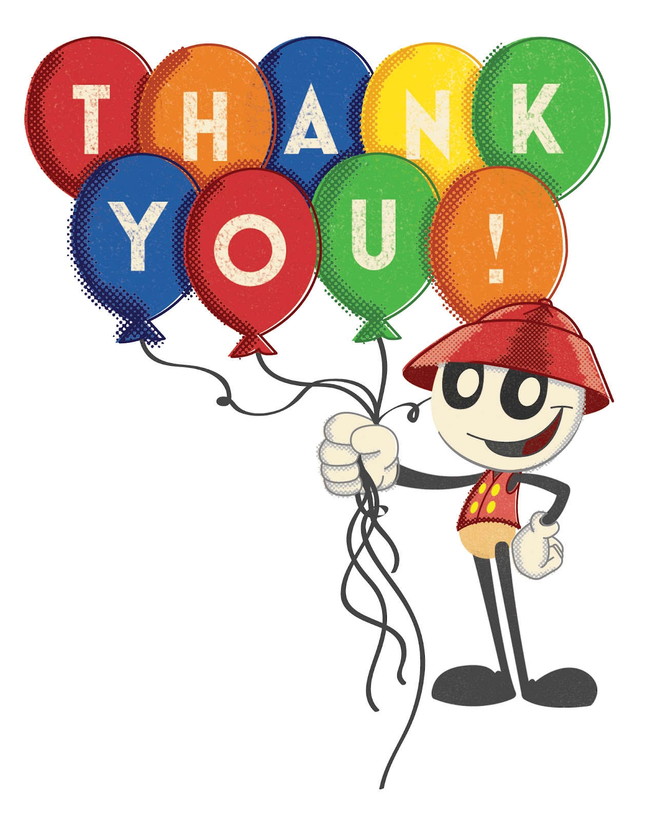 hight resolution of 1257x1600 computer thank you clipart