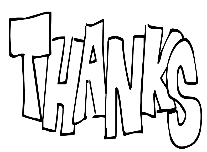 Thank You Images Clip Art In Many Languages