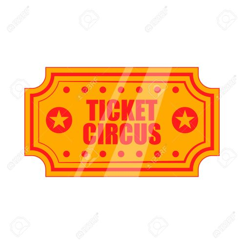 small resolution of 1300x1300 circus clipart circus ticket