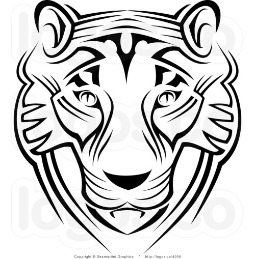 small resolution of 1024x1044 free tiger face clip art