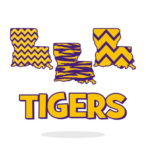 small resolution of 1500x1500 lsu tiger clipart
