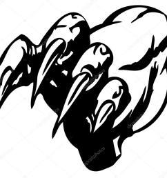 1024x982 monster claw stock vector hakakatb [ 1024 x 982 Pixel ]
