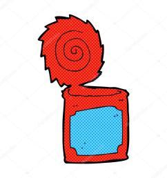 1024x1024 comic cartoon open tin can stock vector lineartestpilot [ 1024 x 1024 Pixel ]