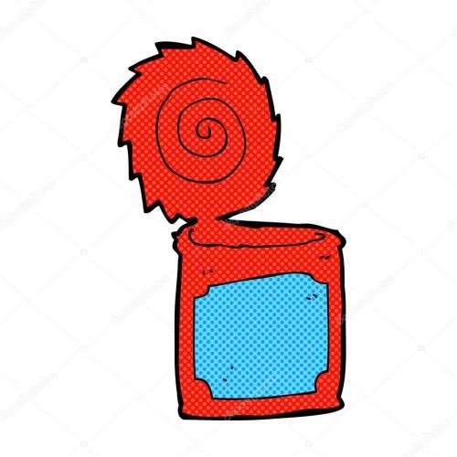 small resolution of 1024x1024 comic cartoon open tin can stock vector lineartestpilot