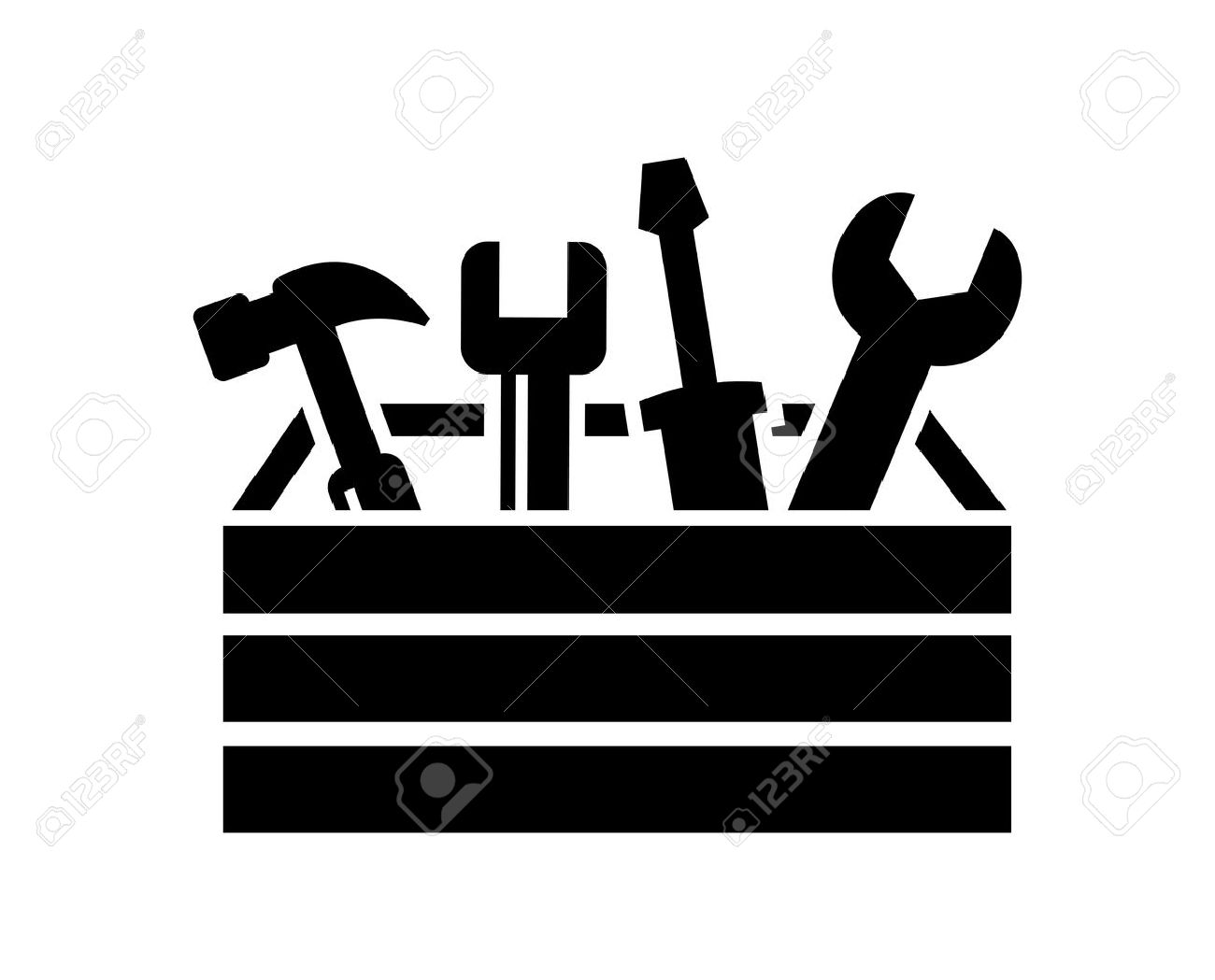 hight resolution of 1300x1049 toolbox clipart black and white black and white toolbox clipart