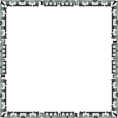 small resolution of 4000x4000 train border clipart 101 clip art