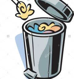 1058x1390 cartoon drawing of a trash can stock photo royalty free image [ 1058 x 1390 Pixel ]