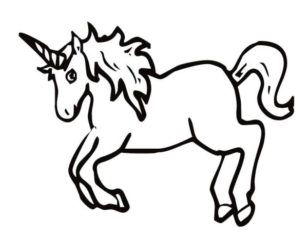 free unicorn coloring pages # 31