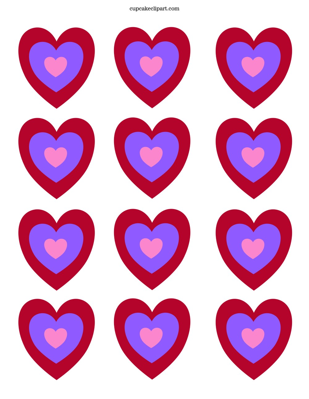 medium resolution of 2550x3300 valentine s day printable cupcake topper cupcake clipart
