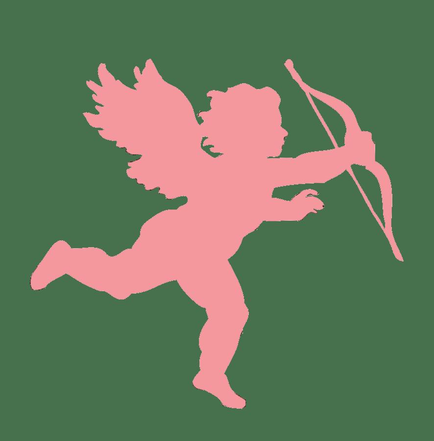 medium resolution of 886x901 pink clipart cupid