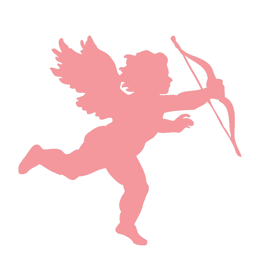 hight resolution of 886x901 pink clipart cupid